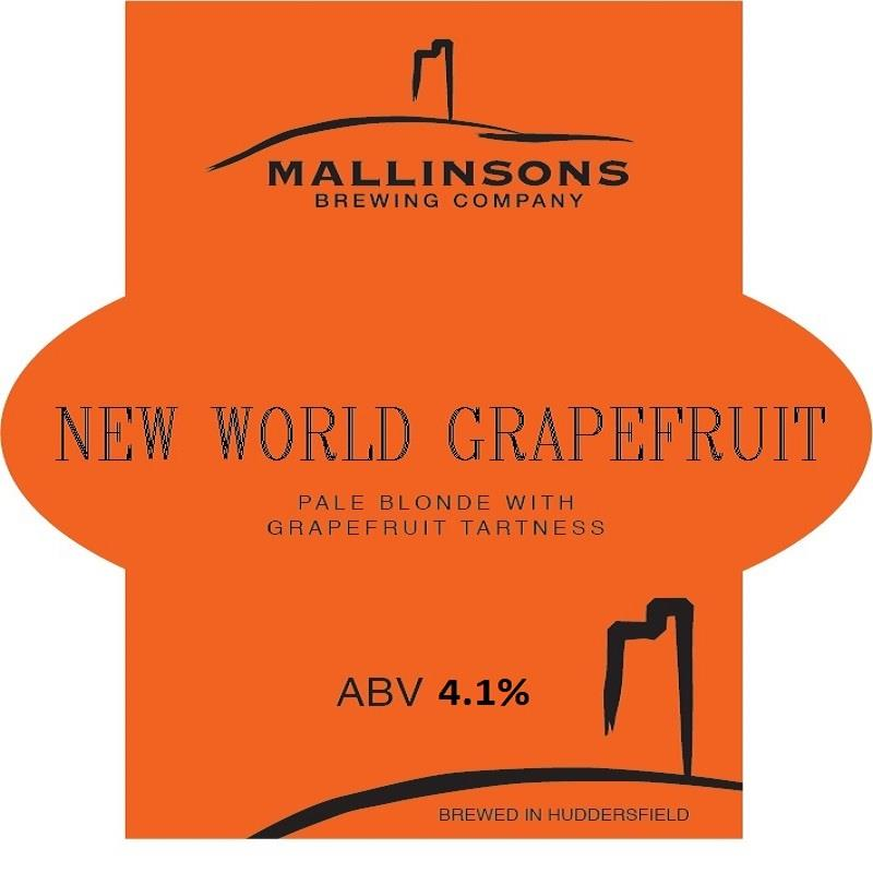 New World Pale Grapefruit