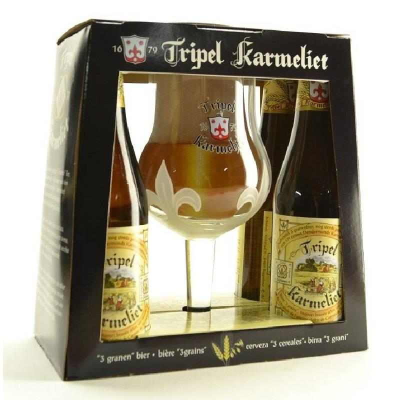 Karmeliet Tripel 4x33cl + Glass Gift Pack