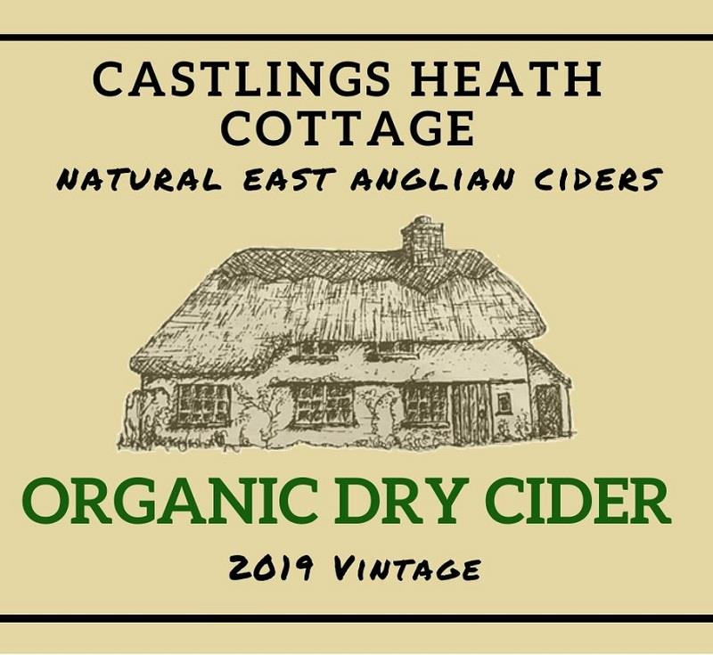 Castlings Heath Organic Dry Cider 2019
