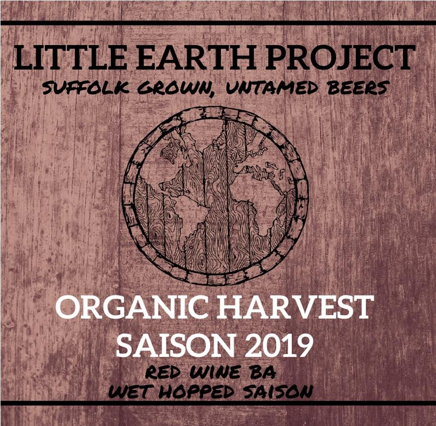 Organic Harvest Saison 2019 Red Wine BA